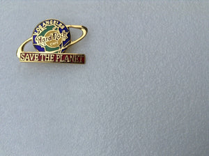 LOS ANGELES SAVE THE PLANET HARD ROCK CAFÉ PIN MB-37B7-48 collectables