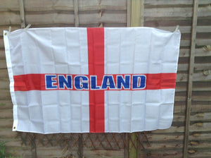 St George Cross England Giant fan flag 5 'x 3 'NEW £ 2.99 Sold by Ashcraft UK