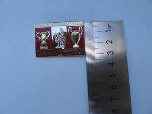 Liverpool Football Club Lapel badge 1981 Mint pin,vintage, collectable, enamel winners 1981