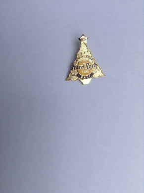 Bali Gold Christmas tree Hard Rock Cafe Pin B11- 413 Sold by Ashcraft GB