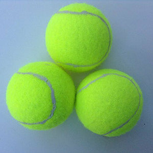 3PC Tennis Balls Ideal for Sports, Cricket, beach, tennis, Dogs loves them New