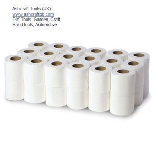 MAJESTIC TOILET ROLLS 2 PLY-EMBOSSED 36 rolls per pack Wholesale job-lot cheap Free UK Delivery