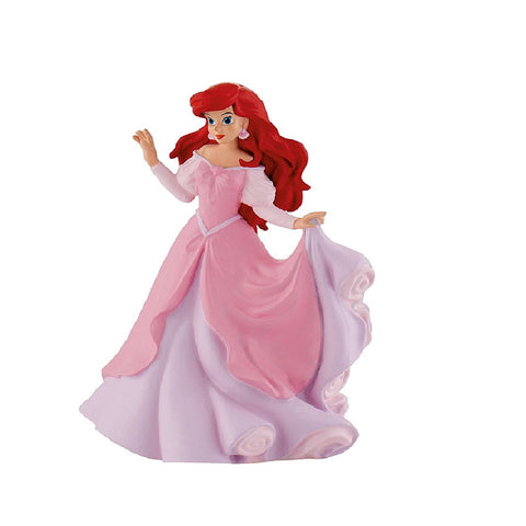 Yalla Toys l Bullyland l Disney's Ariel in Pink Dress Small Figurine