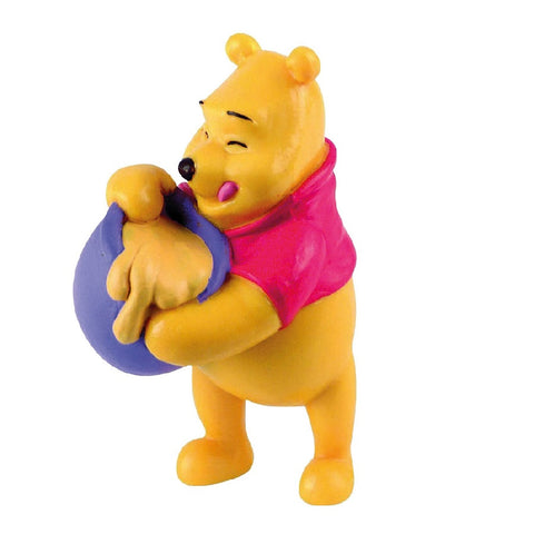 Yalla Toys l Bullyland l Disney's Winnie the Pooh with Honey Pot Pocket size Figurines