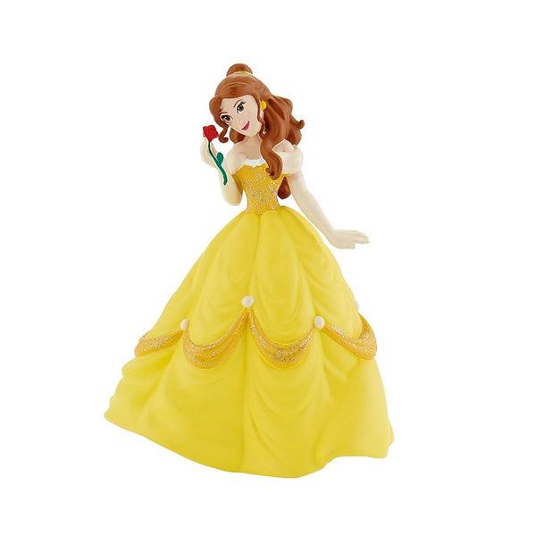 Princess Belle Figurine in handpainted yellow dress