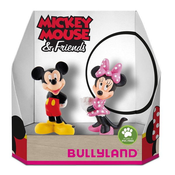 Yalla Toys l Bullyland l Disney's Mickey Mouse Double Pack Figurines