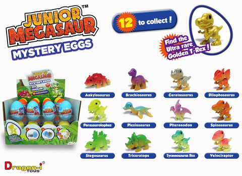 Junior Megasaur Mystery Eggs - 12 to Collect