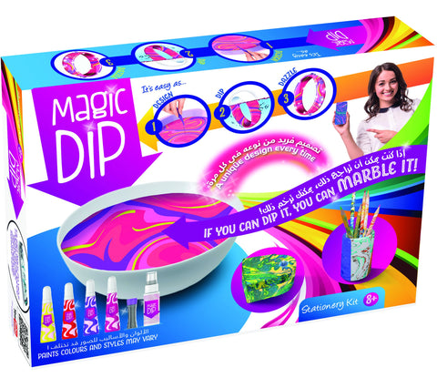 magic dip stationary kit