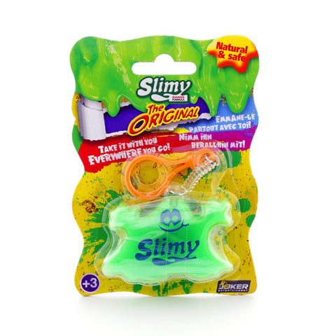 Yalla Toys l Slimy l Slimy Mega Keychain in bright green