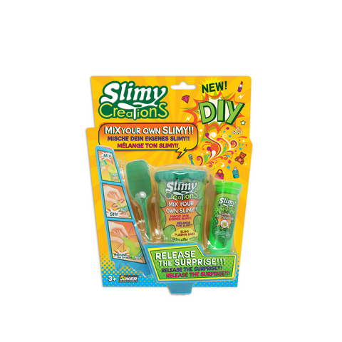 Yalla Toys l Slimy l Slimy Creations Assortment DIY