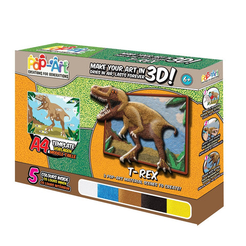Yalla Toys l Pop Art l Animals & Dinosaurs Assorted