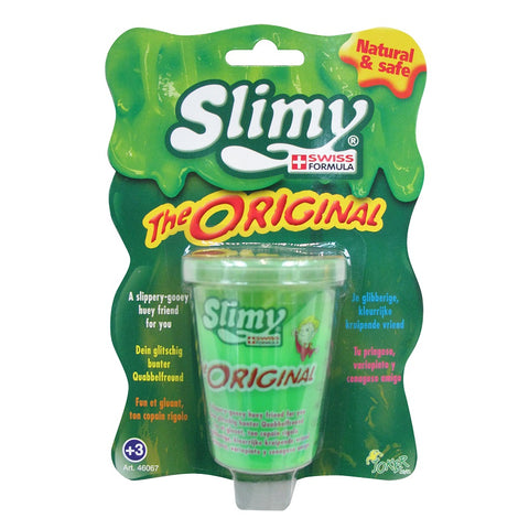 Yalla Toys l Slimy l Slimy Mini Original Green Tub