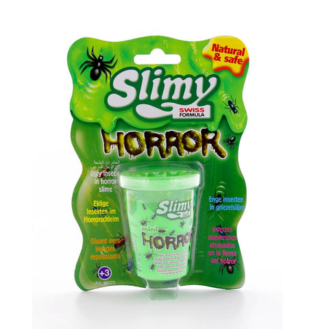 Yalla Toys l Slimy l Slimy Mini Horror Green Tub