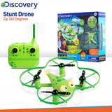 "Yalla Toys l Discovery l STEM Beginner Drone Kids Stunt Zip 5"" in green with packaging"