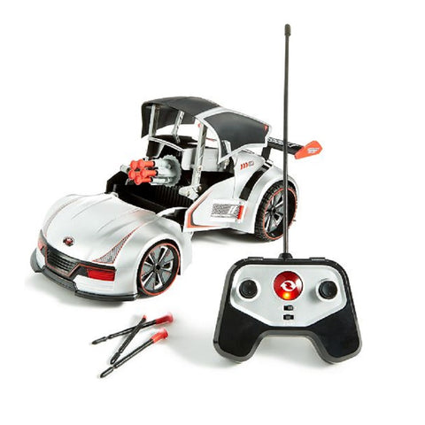 Yalla Toys l Sharper Image l RC Transforming Missile Launcher Race Car with Wireless Control