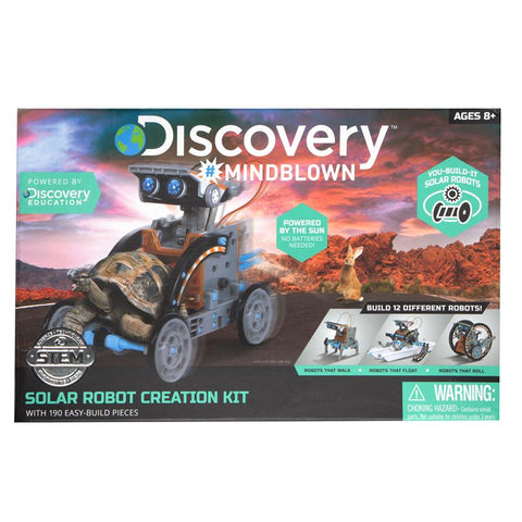 Solar robot by discovery mindlown