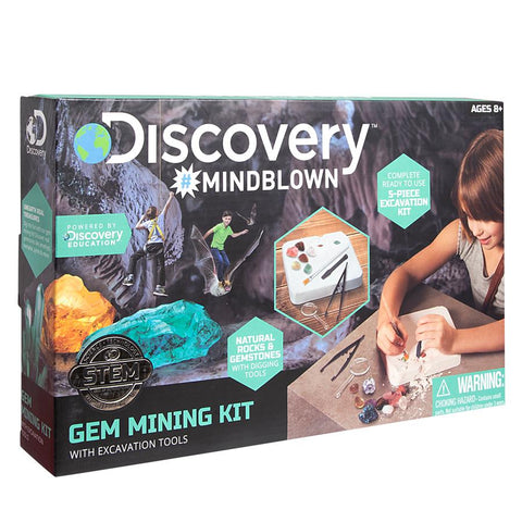 Discovery Mindblown STEM Excavation Kit Gems