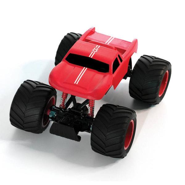 off road terrain rc monster rock slide