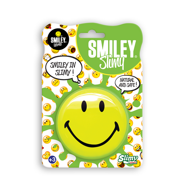 Yalla Toys l Slimy l Slimy Smiley Blister 8 Expressions Emoji Face