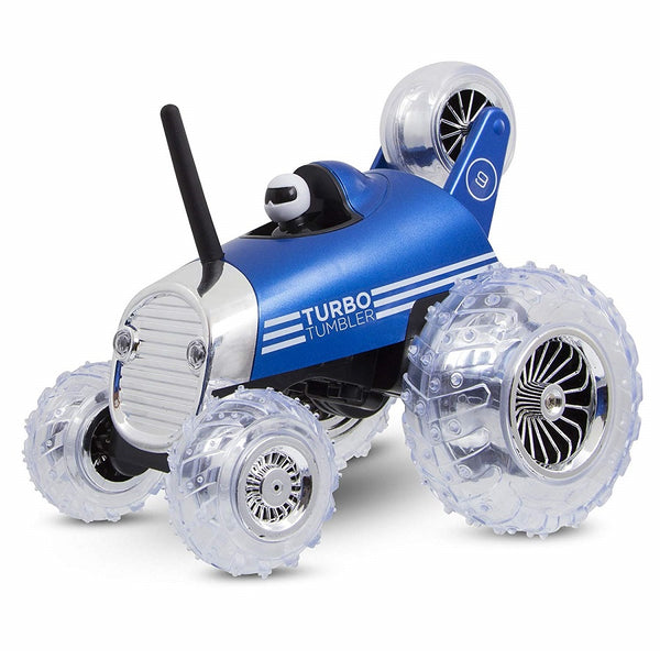 Yalla Toys l Sharper Image l RC Monster Spinning Car Turbo Tumbler Race Car