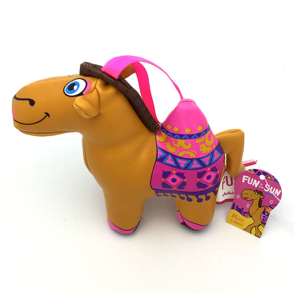 FUN IN THE SUN PVC CAMEL TOY