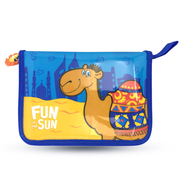 FUN IN THE SUN BLUE PENCILCASE