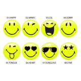 Yalla Toys l Slimy l Slimy Smiley Blister 8 Expressions all emojis and faces