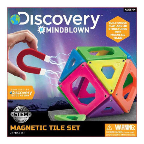 discovery mindblown magnetic tiles