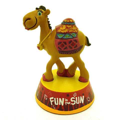 FUN IN THE SUN CAMEL RESIN MODEL