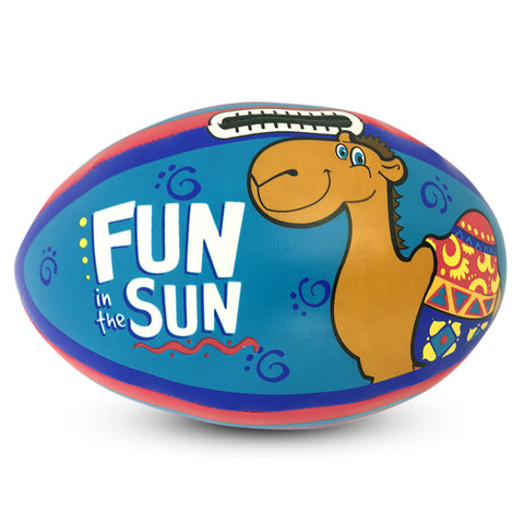 FUN IN THE SUN RUGBY BALL