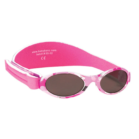 Baby Pink Camo Sunglasses with headstrap