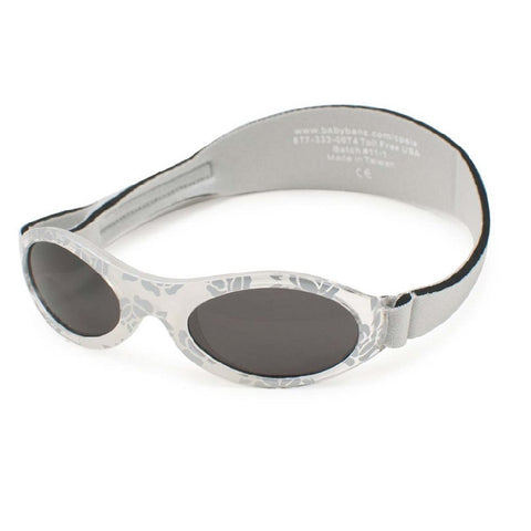 Silver Leaf patterened Sunglasses with headstrap