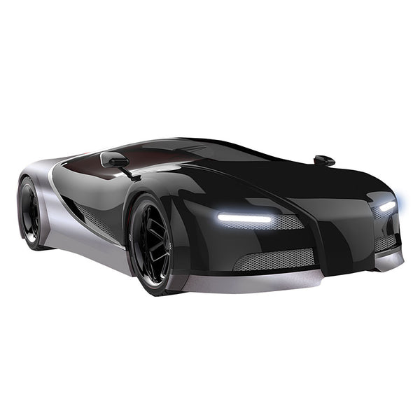 Yalla Toys l Sharper Image l Toy RC Italia Racer 1:16 Race Car in Black and Sliver