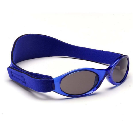 Blue Sunglasses with head side strap
