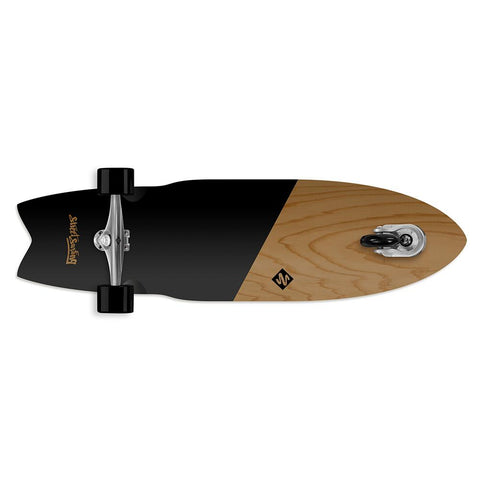 street surfing shark attack 36 koa black bottom