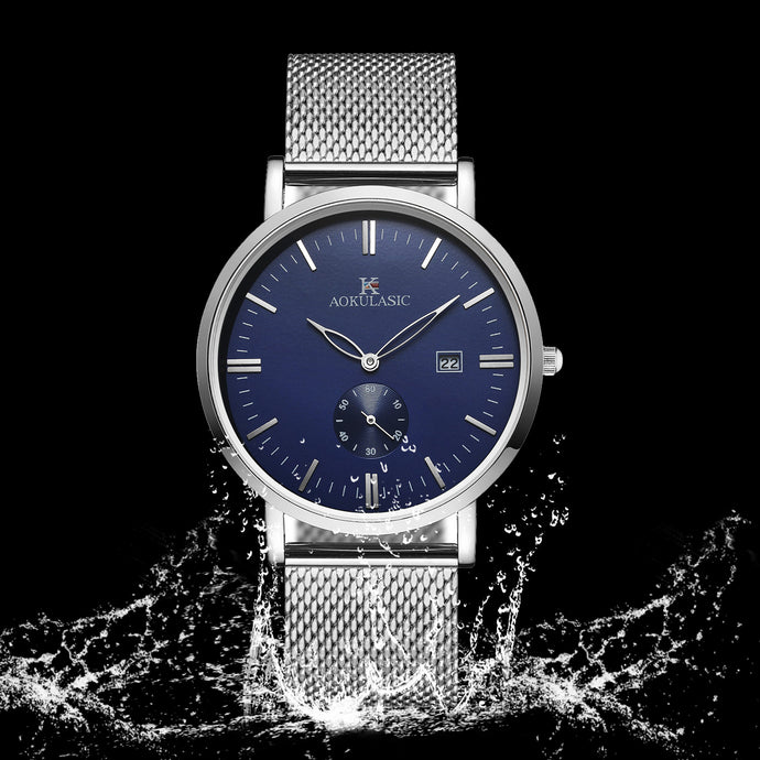 2018 Fashion and Casual Men's Watch 30M Waterproof