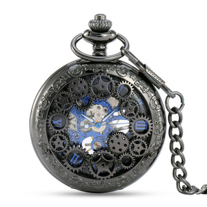 ALIENWOLF Steampunk Vintage Pocket Watch