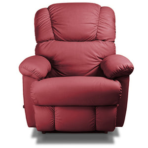 Bruce Maroon Leather Recliner