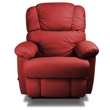 Bruce Red Leather Recliner