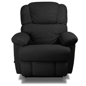 Bruce Black Leather Recliner