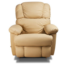 Bruce Camel Leather Recliner