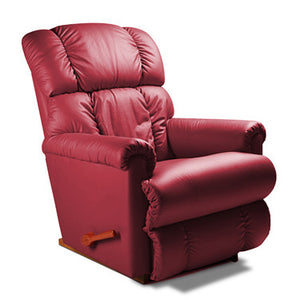 Steve Maroon Leather Recliner