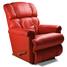 Steve Red Leather Recliner
