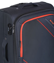 Verage Rock Polyester Grey Soft Luggage Bags