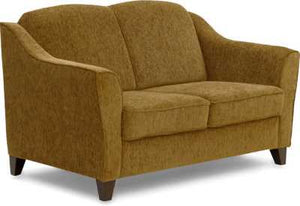 Crescent Fabric Upholstered Sofa