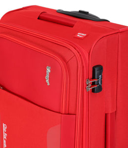 Verage Primus  Polyester Red Soft Luggage Bags