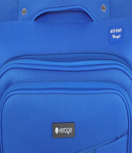 Verage Falcon Polyester Blue Soft Luggage Bags