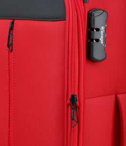 Verage Cambridge Polyester Red Soft Luggage Bags