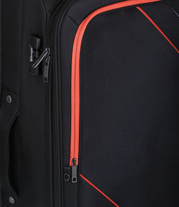 Verage Rock Polyester Black Soft Luggage Bags
