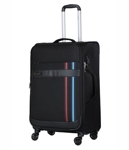 Verage Pheonix  Polyester Black Soft Luggage Bags
